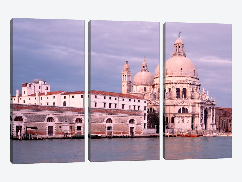 Santa Maria della Salute Grand Canal Venice Italy 3-piece Canvas Artwork