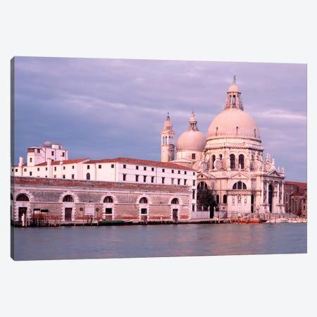 Santa Maria della Salute Grand Canal Venice Italy Canvas Print #PIM1174} by Panoramic Images Canvas Wall Art