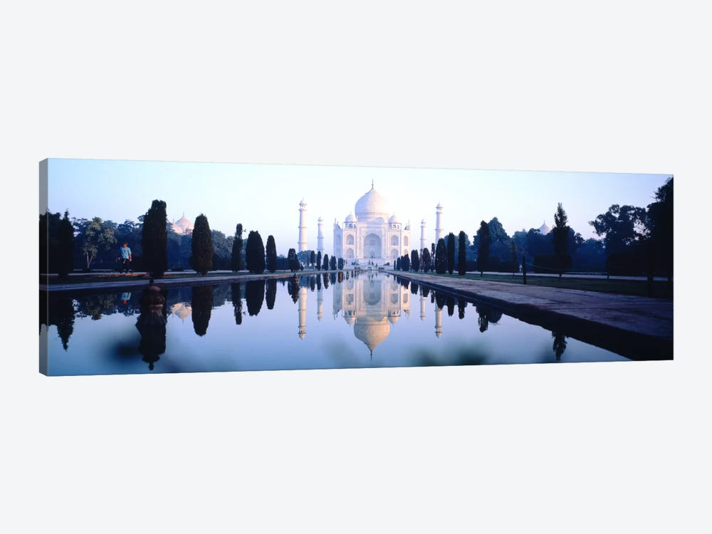 Taj Mahal India by Panoramic Images 1-piece Canvas Print