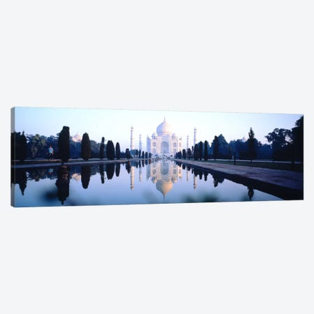 Taj Mahal India Canvas Print #PIM1175} by Panoramic Images Canvas Wall Art
