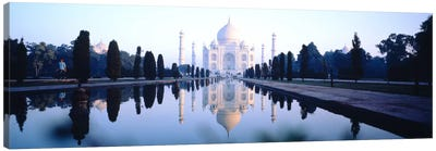 Taj Mahal India Canvas Art Print