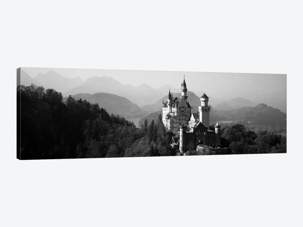 Castle on a hill, Neuschwanstein Castle, Bavaria, Germany by Panoramic Images 1-piece Canvas Print