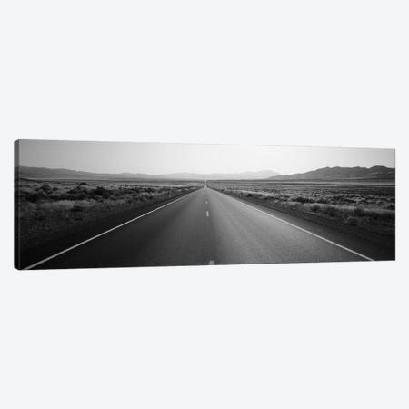 Desert Road, Nevada, USA Canvas Print #PIM11779} by Panoramic Images Canvas Art Print