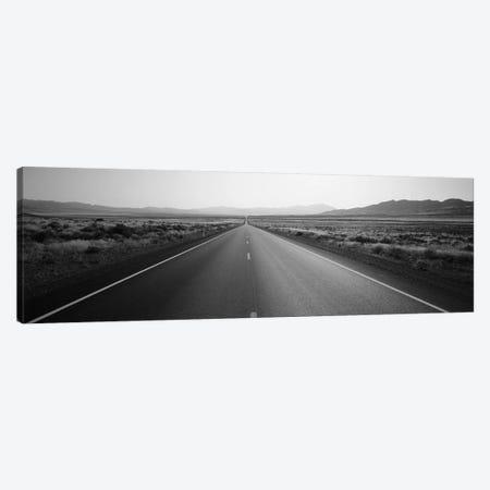 Desert Road, Nevada, USA Canvas Print #PIM11779} by Panoramic Images Canvas Art Print