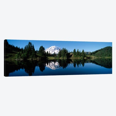 Eunice Lake Mt Rainier National Park WA USA Canvas Print #PIM1177} by Panoramic Images Canvas Art