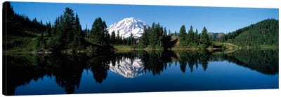 Eunice Lake Mt Rainier National Park WA USA Canvas Art Print