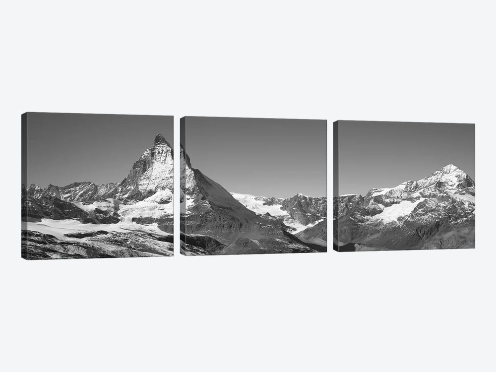 Matterhorn Switzerland by Panoramic Images 3-piece Canvas Wall Art