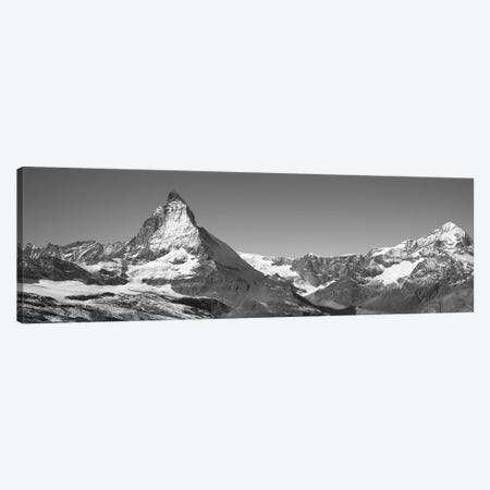 Matterhorn Switzerland Canvas Print #PIM11781} by Panoramic Images Canvas Artwork