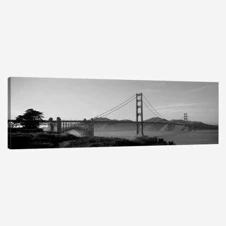 Golden Gate Bridge San Francisco CA USA Canvas Print #PIM11789} by Panoramic Images Canvas Wall Art