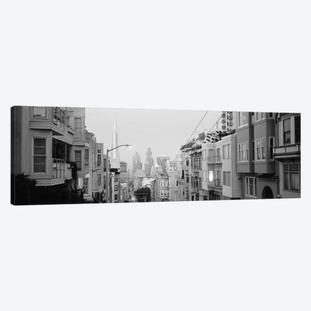 USA, California, San Francisco, Apartment in San Francisco Canvas Print #PIM11796} by Panoramic Images Canvas Artwork