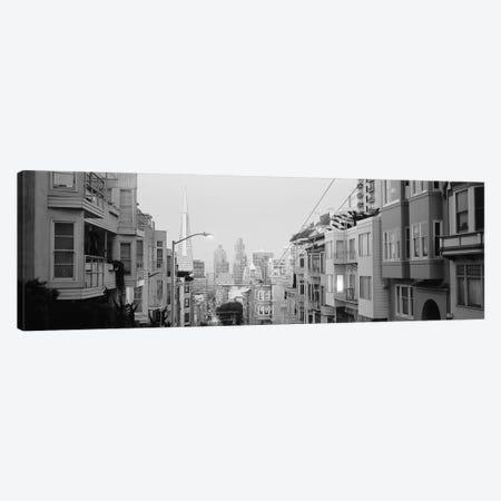 USA, California, San Francisco, Apartment in San Francisco Canvas Print #PIM11796} by Panoramic Images Canvas Artwork