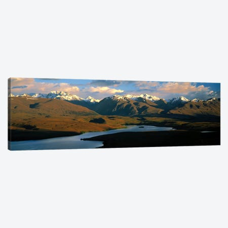 Lake Alexandrina New Zealand Canvas Print #PIM1179} by Panoramic Images Canvas Art Print