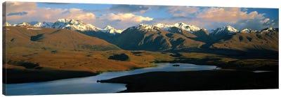 Lake Alexandrina New Zealand Canvas Print #PIM1179