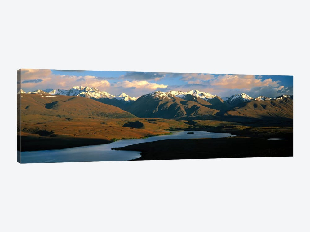 Lake Alexandrina New Zealand 1-piece Canvas Print