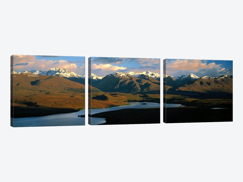 Lake Alexandrina New Zealand 3-piece Art Print