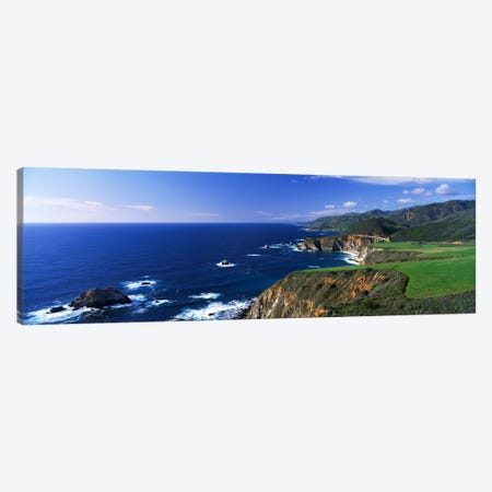 Coastal Landscape, Big Sur, California, USA Canvas Print #PIM117} by Panoramic Images Canvas Print