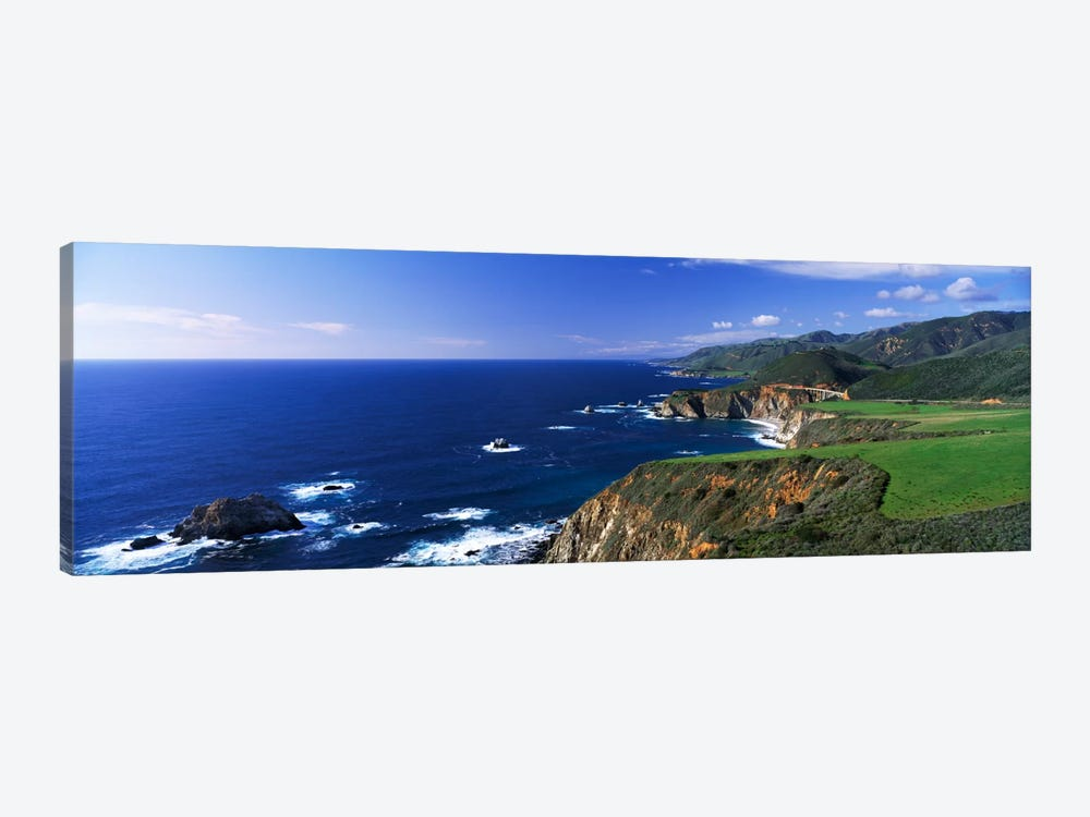 Coastal Landscape, Big Sur, California, USA by Panoramic Images 1-piece Canvas Print