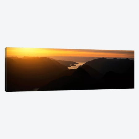 Fiordland National Park New Zealand Canvas Print #PIM1181} by Panoramic Images Canvas Art