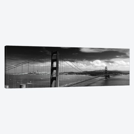 Bridge Over A River, Golden Gate Bridge, San Francisco, California, USA Canvas Print #PIM11825} by Panoramic Images Canvas Artwork