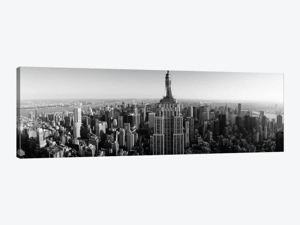 Aerial view of a cityscape 2, Empire State Building, Manhattan, New York City, New York State, USA by Panoramic Images 1-piece Canvas Art Print