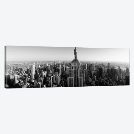 Aerial view of a cityscape 2, Empire State Building, Manhattan, New York City, New York State, USA Canvas Print #PIM11831} by Panoramic Images Canvas Art