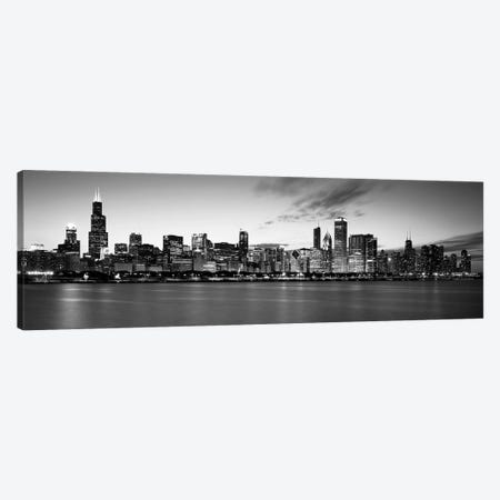 Buildings at the waterfront, Lake Michigan, Chicago, Cook County, Illinois, USA Canvas Print #PIM11833} by Panoramic Images Canvas Wall Art