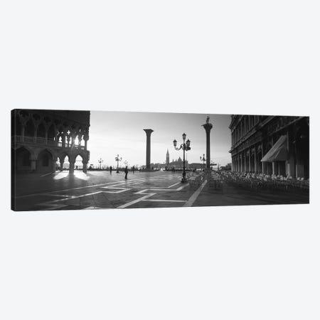 Saint Mark Square, Venice, Italy 3-Piece Canvas #PIM11834} by Panoramic Images Canvas Art Print