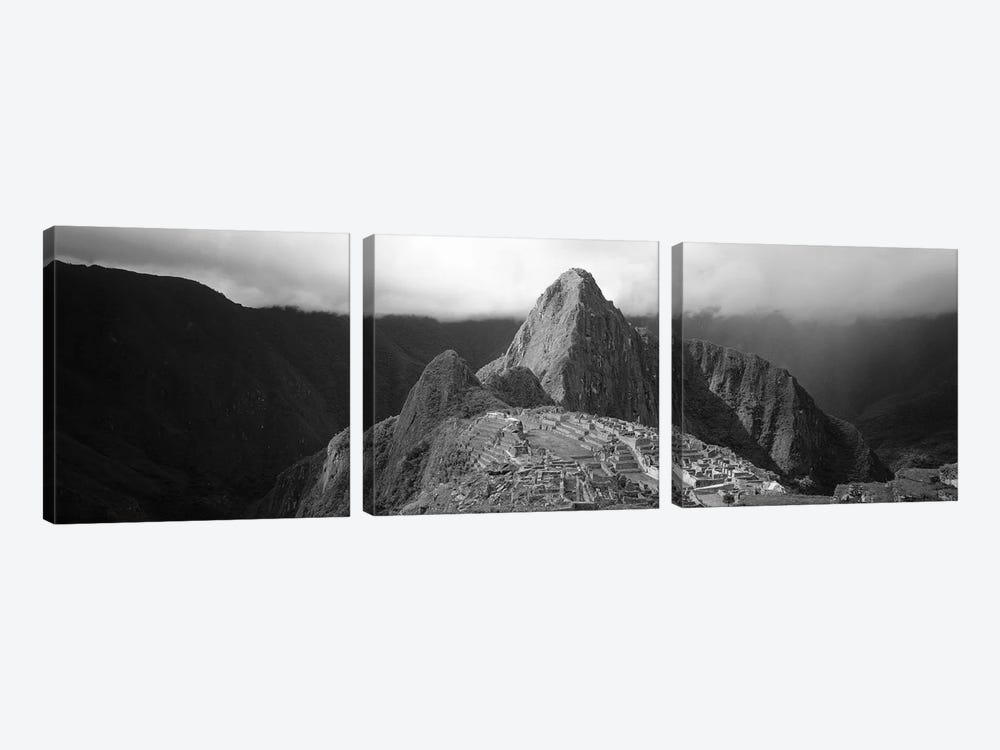 Ruins, Machu Picchu, Peru by Panoramic Images 3-piece Canvas Print