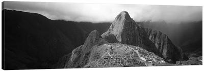Ruins, Machu Picchu, Peru Canvas Art Print