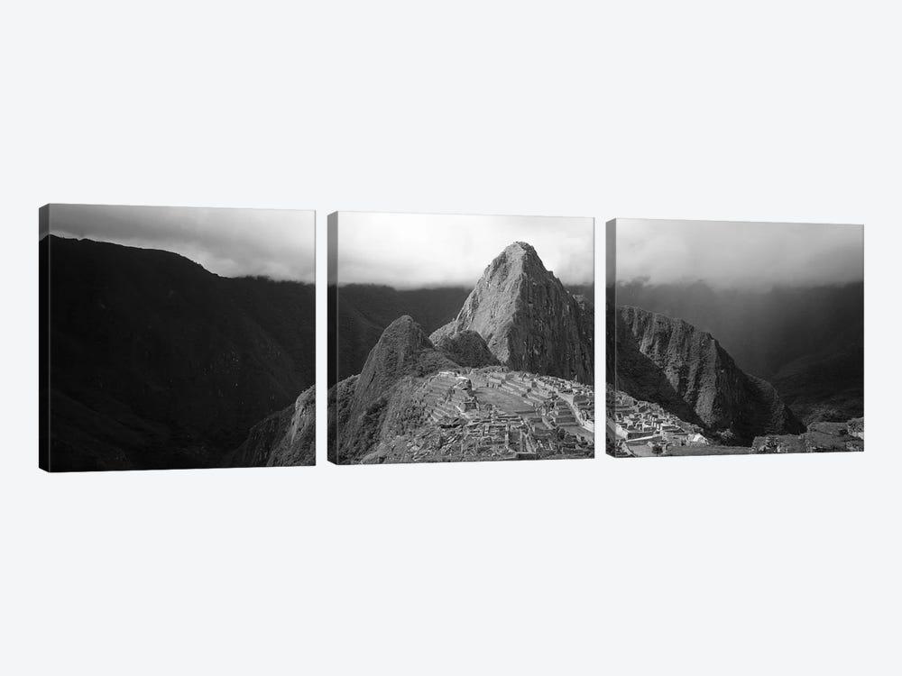 Ruins, Machu Picchu, Peru by Panoramic Images 3-piece Canvas Print