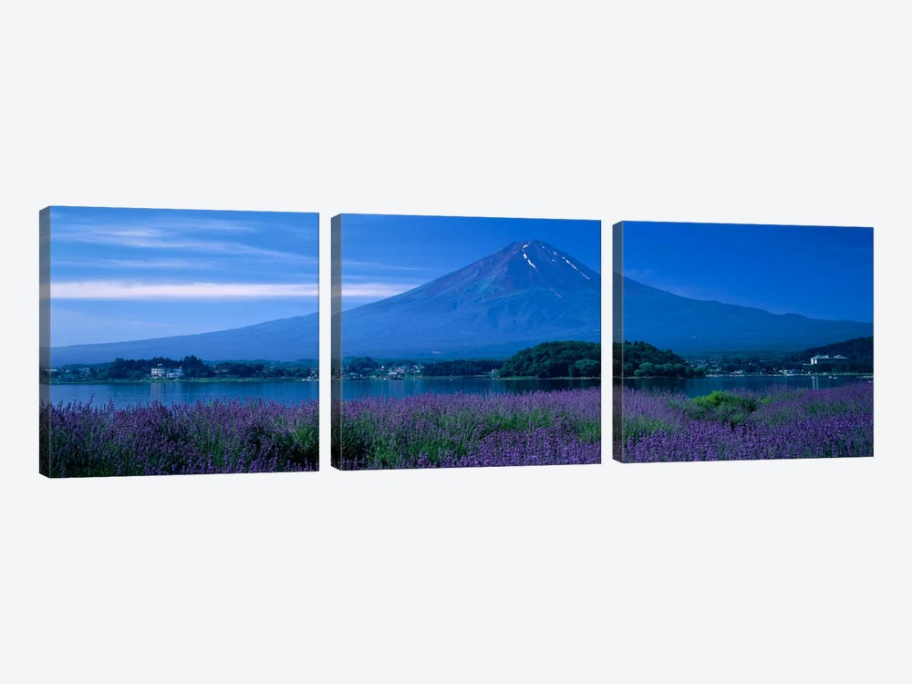 Mount Fuji Japan by Panoramic Images 3-piece Canvas Wall Art