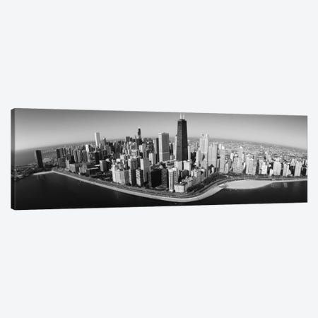 Aerial view of buildings in a city, Lake Michigan, Lake Shore Drive, Chicago, Illinois, USA Canvas Print #PIM11855} by Panoramic Images Art Print