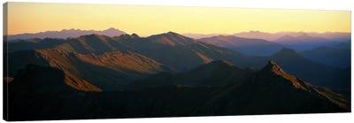 Harris Mountains New Zealand Canvas Print #PIM1185