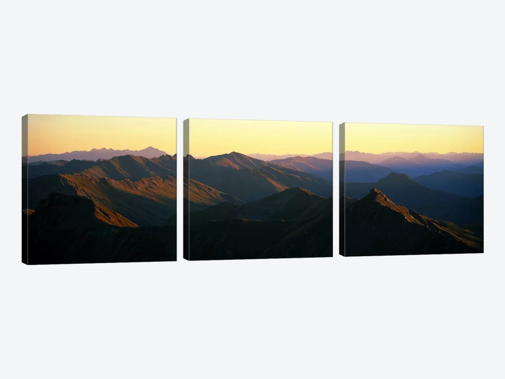 Harris Mountains New Zealand by Panoramic Images 3-piece Canvas Art