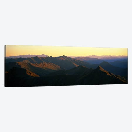 Harris Mountains New Zealand Canvas Print #PIM1185} by Panoramic Images Canvas Print