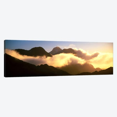 Mount Pembroke Fiordland National Park New Zealand Canvas Print #PIM1186} by Panoramic Images Canvas Art Print