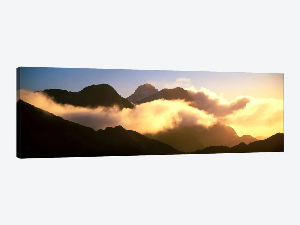 Mount Pembroke Fiordland National Park New Zealand by Panoramic Images 1-piece Canvas Art Print