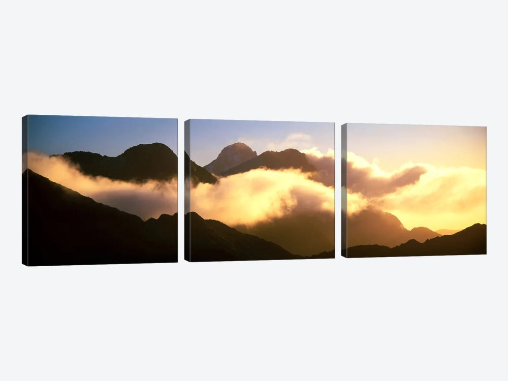 Mount Pembroke Fiordland National Park New Zealand by Panoramic Images 3-piece Art Print