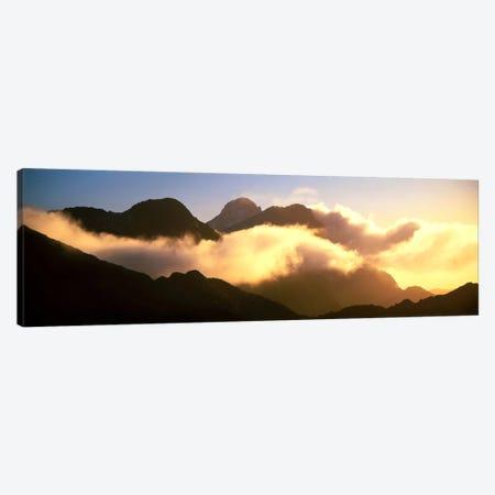 Mount Pembroke Fiordland National Park New Zealand Canvas Print #PIM1186} by Panoramic Images Canvas Art Print