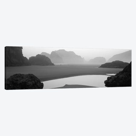 Panoramic view of the ocean, Pacific Ocean, Bandon State Natural Area, Bandon, Oregon, USA Canvas Print #PIM11873} by Panoramic Images Canvas Artwork
