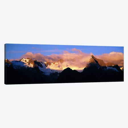 Darren Mtns Fiordland National Park New Zealand Canvas Print #PIM1187} by Panoramic Images Canvas Print