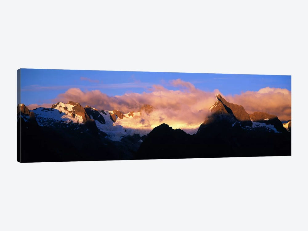 Darren Mtns Fiordland National Park New Zealand by Panoramic Images 1-piece Canvas Artwork