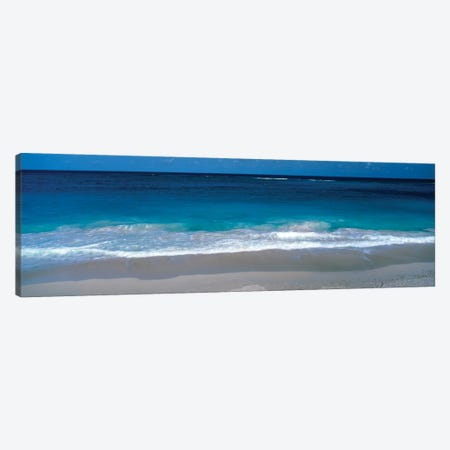 Waters Edge Barbados Caribbean Canvas Print #PIM1189} by Panoramic Images Canvas Art