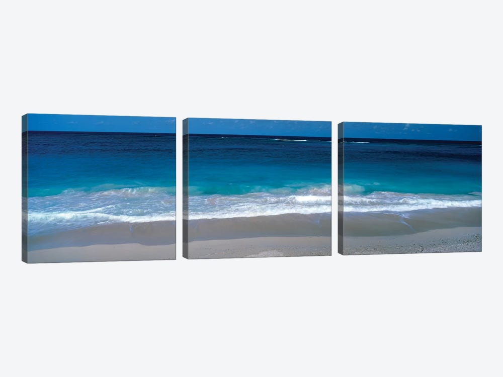 Waters Edge Barbados Caribbean by Panoramic Images 3-piece Canvas Art