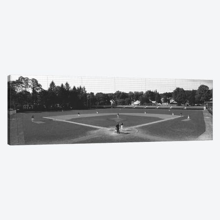 Doubleday Field Cooperstown NY 3-Piece Canvas #PIM11902} by Panoramic Images Canvas Artwork