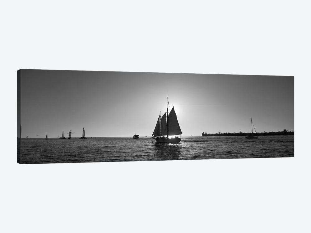 Sailboat, Key West, Florida, USA by Panoramic Images 1-piece Canvas Art