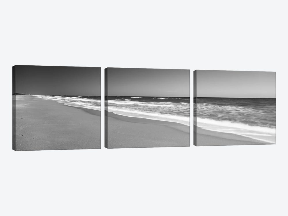 Route A1A, Atlantic Ocean, Flagler Beach, Florida, USA by Panoramic Images 3-piece Canvas Print