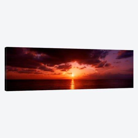 Sunrise Miami FL USA Canvas Print #PIM1190} by Panoramic Images Canvas Print