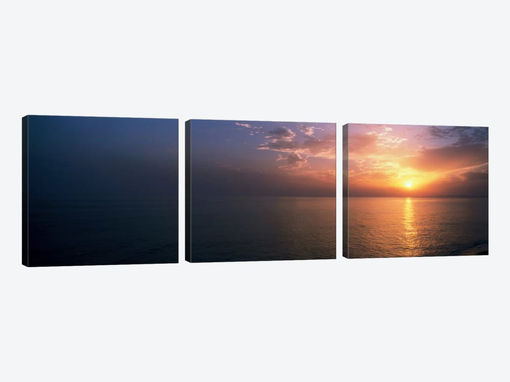Seascape The Algarve Portugal 3-piece Canvas Art Print