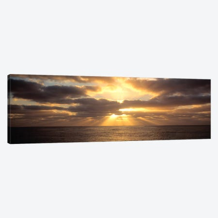 Sunset Sub Antarctic Australia Canvas Print #PIM1192} by Panoramic Images Art Print